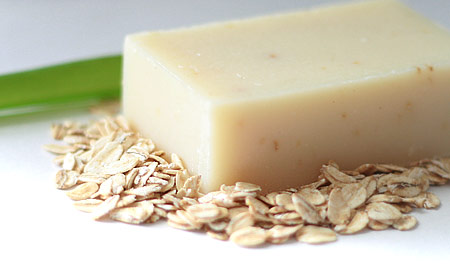 Natural Soap Bar - Oats and Aloe